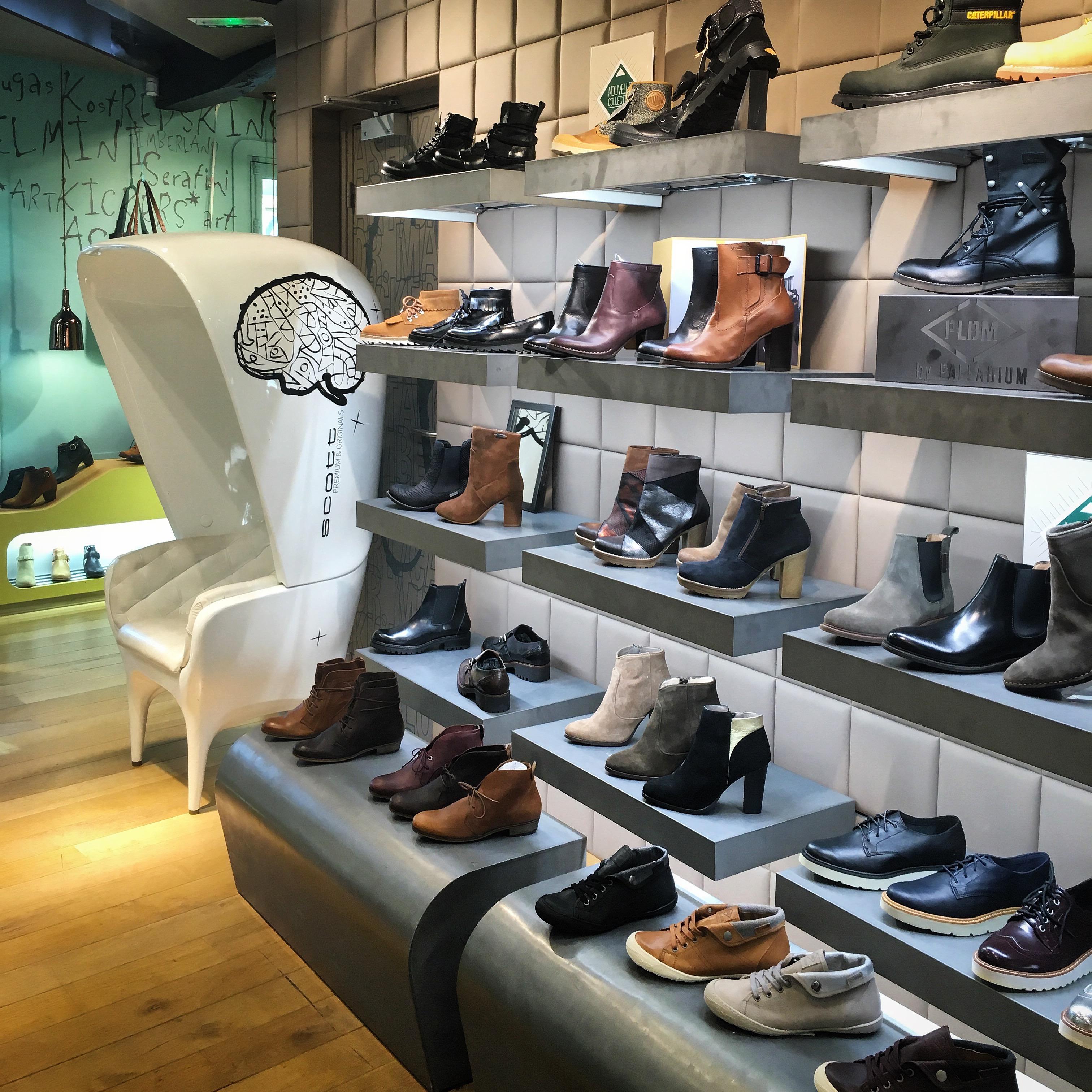 Scott Premium et Originals Commerce Mode Rennes Carré