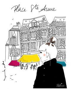 Rennes Ste Anne illustration