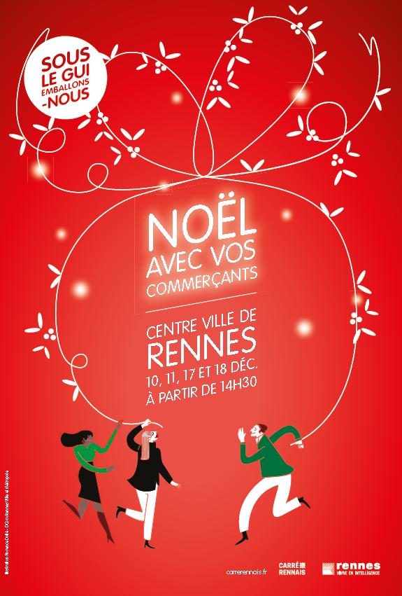 Noël à Rennes