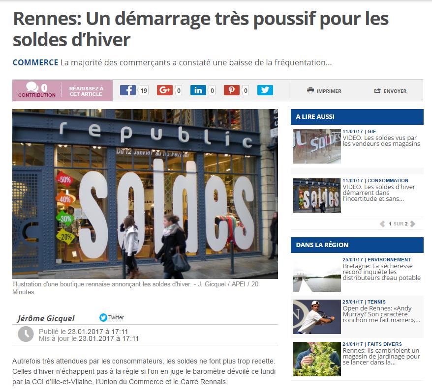 Soldes Rennes